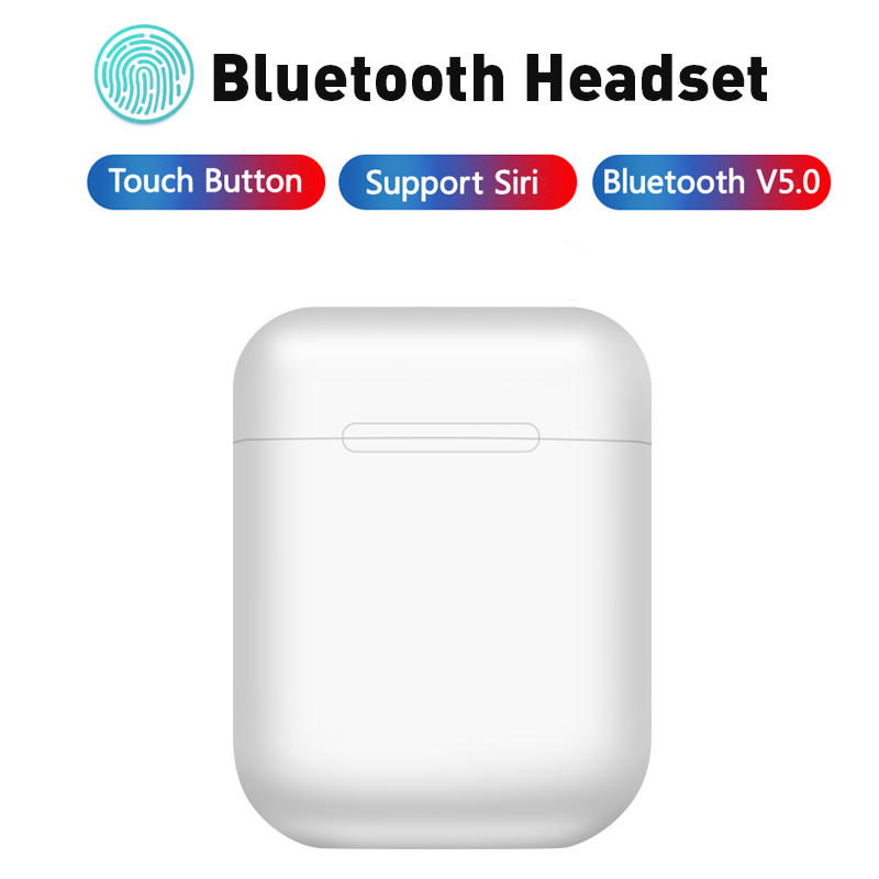 Touch control <font><b>Mini</b></font> <font><b>5.0</b></font> <font><b>Bluetooth</b></font> <font><b>Earphone</b></font> <font><b>Wireless</b></font> Headphone Portable Invisible Earbud for xiaomi Iphone <font><b>Smart</b></font> Phone i11 <font><b>i12</b></font> <font><b>TWS</b></font> image