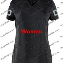 Женская футболка Derek Carr Bo Jackson, цвет белый/черный