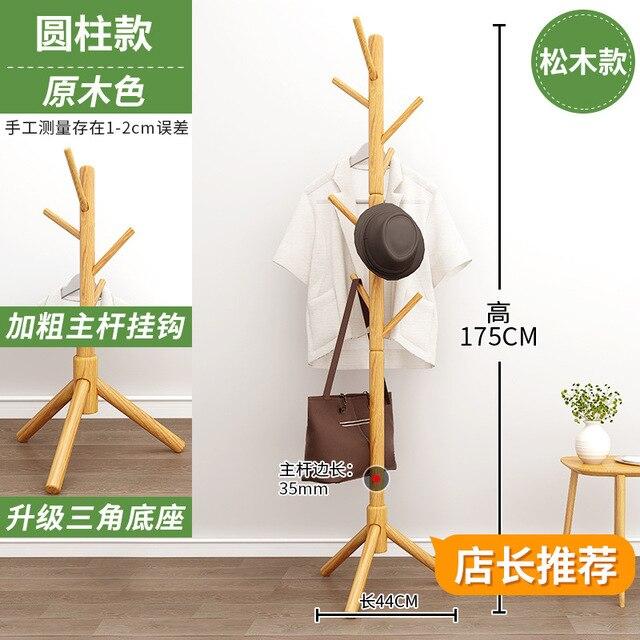 Solid Wood Coat Rack  5