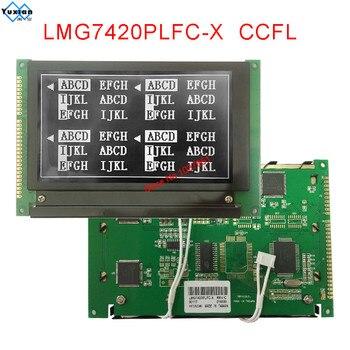 LMG7420PLFC-X  LMG7420PLFC X  240128 FSTN Negative black  LCD Display module new brand free ship