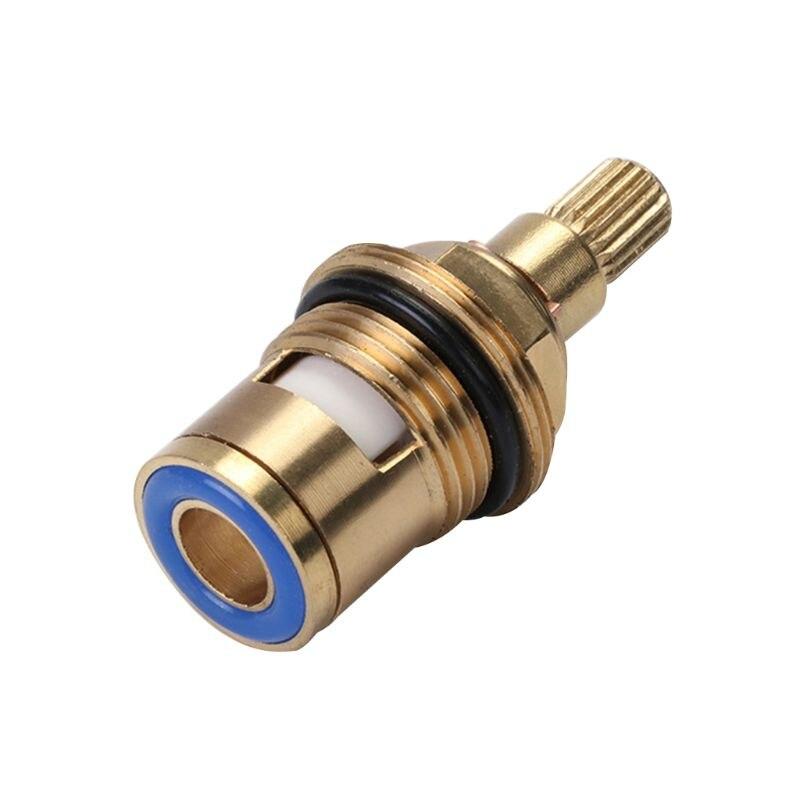 Brass Ceramic Tap Valve Faucet Cartridge Bathroom Hot Cold Water Mixer Valve