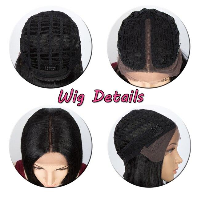 синтетические прямые парики для женщин 10 дюймов короткие светло фотография