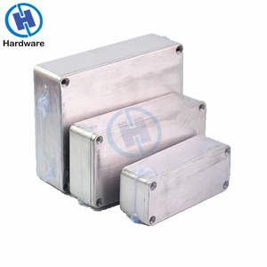 3Pcs Stomp Box Electric Acoustic Guitar Effects Pedal 1590A 1590B 1590BB Style Aluminum Enclosure Bottom Container Boxes(China)