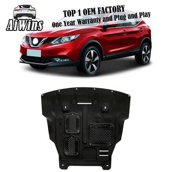 Car styling dla Nissan Qashqai plastikowa stalowa osłona silnika dla Nissan Qashqai 2017-2018 płyta ochronna błotnika silnika 1pc tanie i dobre opinie 1 2kg 6inch Iso9001 For Nissan Qashqai Steel