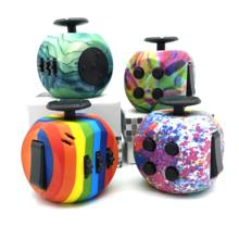 Office Decompression Cube Adult Anti-stress Dice Toy Kids Anxiety Spinner Reliver Toys For Autism ADHD
