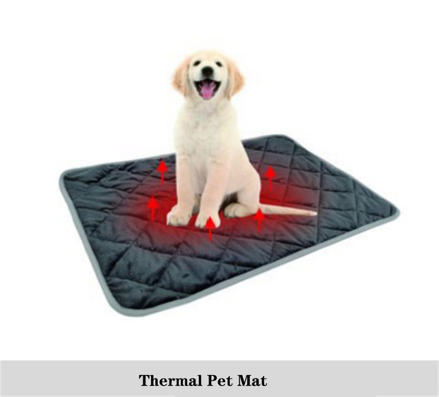 Warm Dog Mat For Cat Thermal  Pet Mat Soft Sleep Keep warm in winter Blankets Dog Pad Self Heating Rug Thermal Washable Mat Bed 1