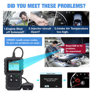 Image 2 - LAUNCH Code Reader CR3001 OBD2 Scanner Engine Fault CAN Scan Tool with Full OBDII Functions with Multilingual free update online