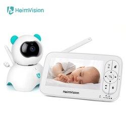 Heimvision hma36mq monitor do bebê com câmera 720p cor de vídeo 5 Polegada tela lcd babá segurança visão noturna temperatura câmera