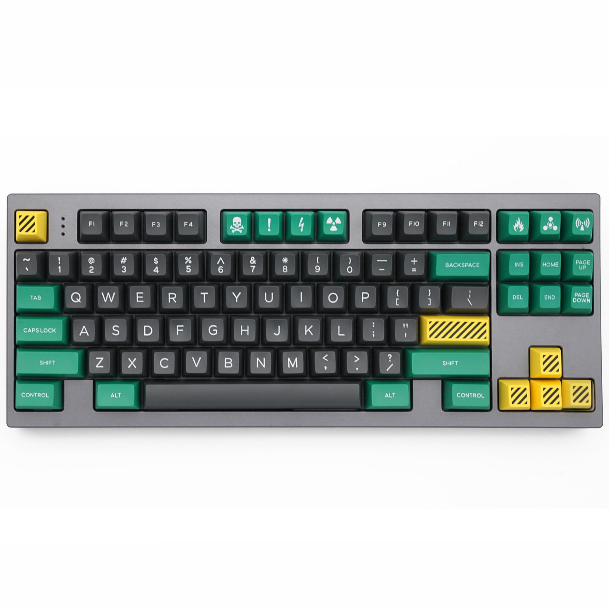 Domikey Sa ABS Doubleshot Keycap Bộ Khủng Hoảng Sa Hồ Sơ Cho MX Thân Bàn Phím Game 87 104 Gh60 Xd64 Xd68 Xd84 xd96 Xd75 Xd87 title=