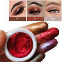 Professional Eyeshadow Mud Easy To Wearfull Makeup Sequins Glitter Loose Shimmer Pigment Potato Eye Shadow Mud Cream Makeup