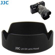 JJC osłona obiektywu aparatu Canon EF M obiektyw 18 55mm na Canon EOS M200 M100 M50 M10 M6 Mark II M5 M3 zastępuje obiektyw Canon EW 54