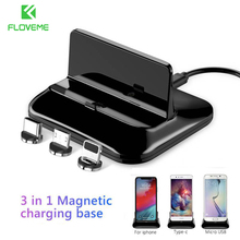 3 in 1 Magnetic Phone Charger Holder For Apple Watch Dock Wireless Charger For Airpods Stand Holder For iPhon Charging Bracket