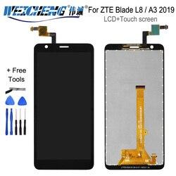 5.0 ''dla ZTE Blade L8/A3 2019 panel dotykowy lcd szkło na wyświetlacz szklany panel digitizera części montażowe dla ZTE A3 2019