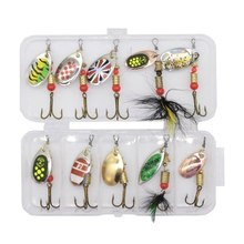 1pcs Hard Fishing Spoon Lures Spinner Bait 2.5-4g Fishing Wobbler Metal Spinner bait Isca Artificial Free with box fish Tackle hengjia 9g 9cm spinner lure fishing lures artificial baits metal bionic fish hook isca artificial fishing tackle rotate sequins