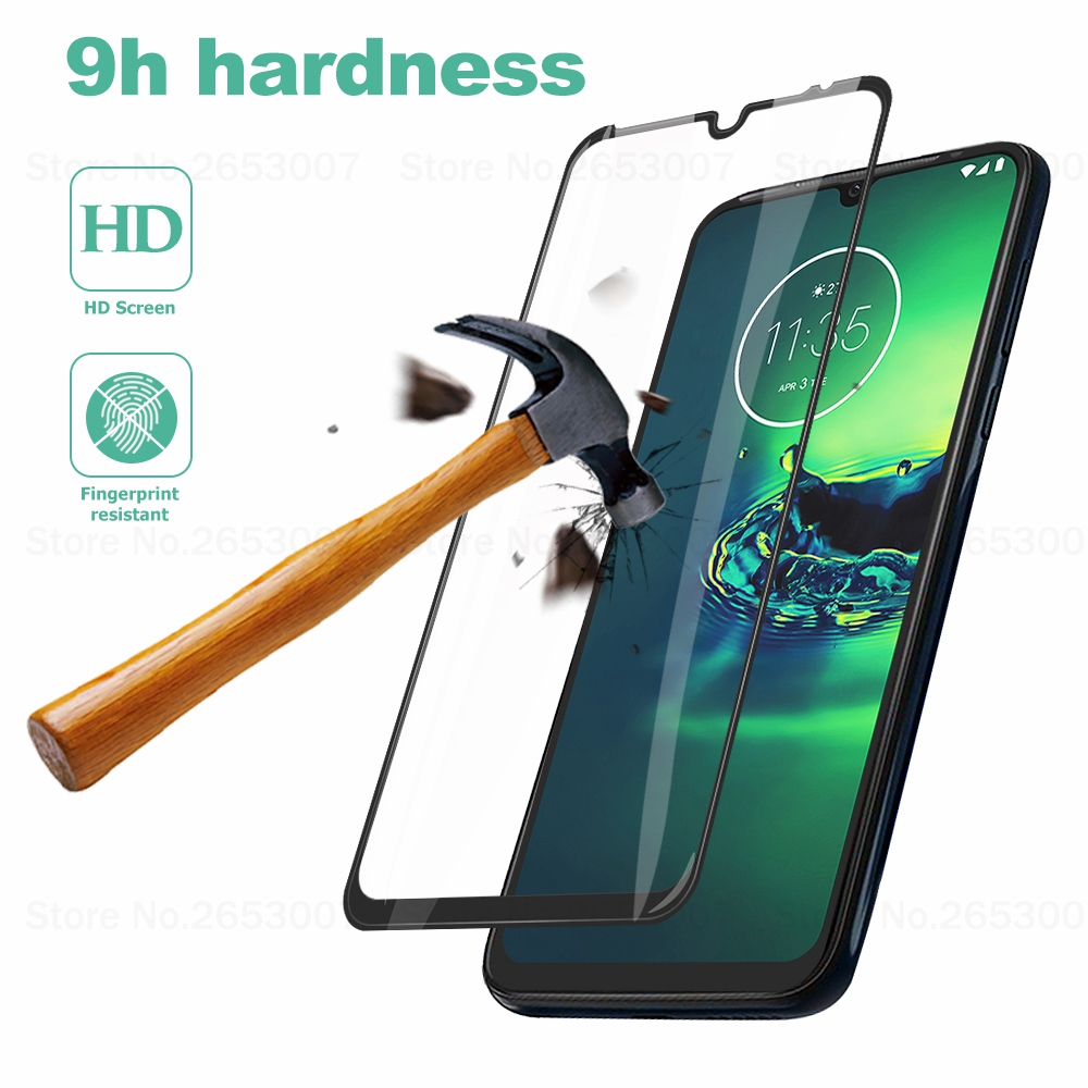2 PCS Tempered Glass For Moto P30 Note G8 G7 Plus One Zoom E6 E5 Plus Macro P30 Z3 Z2 Play P30 G8 G7cover Screen Protector Glass