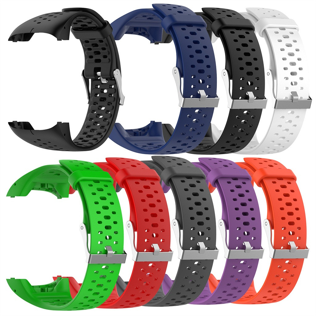 Ouhaobin Watch Band For <font><b>Polar</b></font> M400 <font><b>M430</b></font> Silicone Sport Replacement Wrist Strap 20mm Watch Strap Accessories image