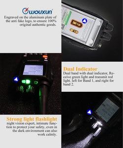 Image 5 - Wouxun Walkie Talkie KG UV9D Plus UHF/VHF multibanda, receptor 76 180/230 250/350 512/700 985MHz, transceptor de multifrecuencia FM