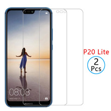 2Pcs Tempered Glass on For Huawei P20 Pro P10 Lite Honor 10