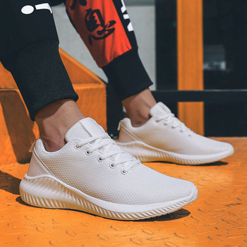 Hot Sale Male Running Shoes Men Sneakers Sport Air Tenis Mesh Fashion Cushion Flats Lace-Up For 2020 Spring Plus Big Size 38-46