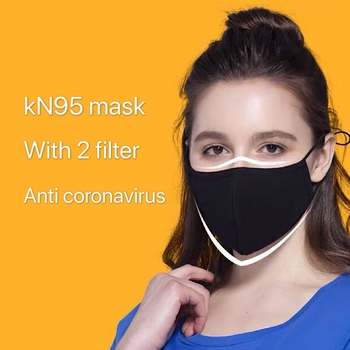 KN95 mask Virus mask N95 filter Anti smog cotton Virus pollen flu Dust reused KN95 wash Fog Gas Bacteria proof PM2.5 mask