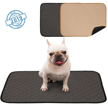 Собачьи мочалки, пеленки для собак, Щенячий коврик для обучения животных, Моющиеся Многоразовые подушечки для собак, кошек, кровати, дивана, матраса, защитный чехол