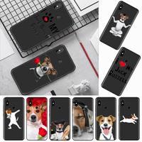 Custodia per cellulare Jack Russell Terrier per Xiaomi Redmi mi note max 3 5 6 8 9 10 t S SE lite pro borse per cellulare in Silicone morbido