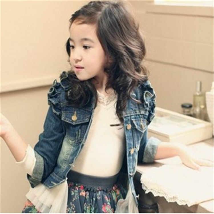 2019 ילדים דנים מעיל לילדה גיל 1-10Y ילדי סתיו חורף Outerweat מעיל תינוקת אופנה בגדי תלבושות