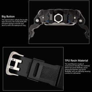 Image 4 - New Sport Men Digital Watch Cool Luminous Watches Men Sport Fitness Timer Watches Clock Alarm Clock Hourly Chime reloj de hombre