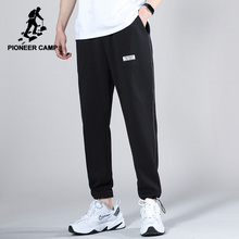 Men's Trousers Sweatpants Men Pioneer Camp Fashion-Design Summer Cotton New Black AZZ0108042