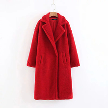 Fashion Faux Fur Coat for Women 2019 Winter Thick Plus Size Jacket Long Hot Selling