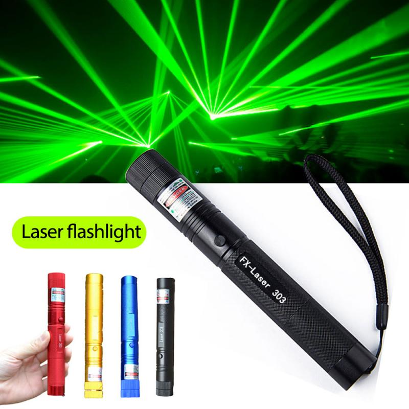 LAZER Military 532nm 10000mw 10w 303 Green Laser Pointer Lazer Pen Flashlight