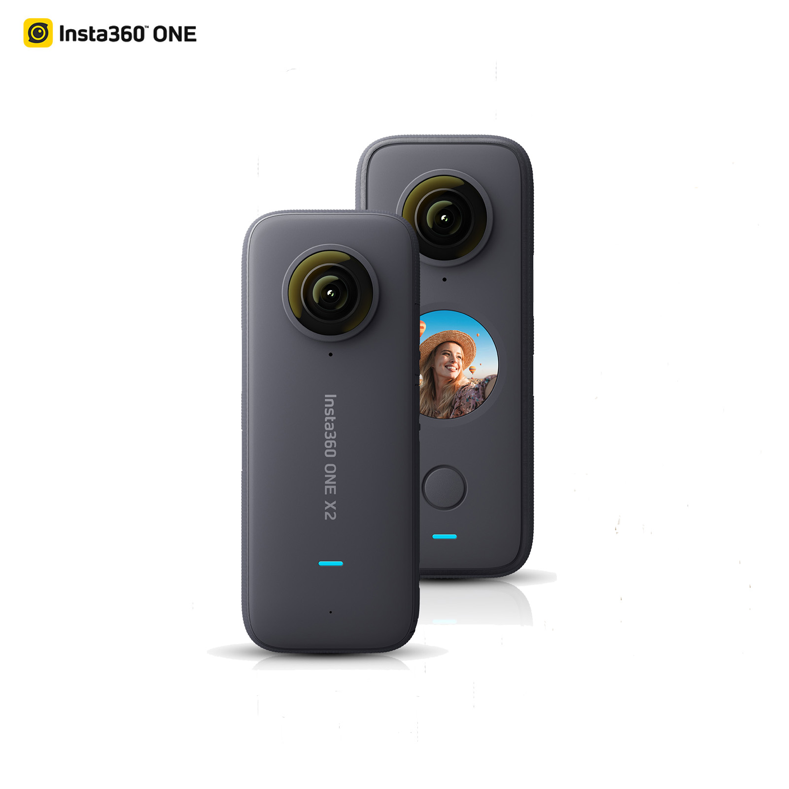 Insta360 ONE X2 Panoramic Action Camera LCD Touch Screen Waterproof Support Bullet Time FlowState Stabilization 360 Camera