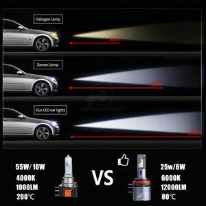 H15 СВЕТОДИОДНЫЕ Лампы Canbus 12V 6000K 12000LM передняя фара для Ford Ranger Explorer For Golf 6 для Mazda CX-5 A3 A6 Светодиодная лампа