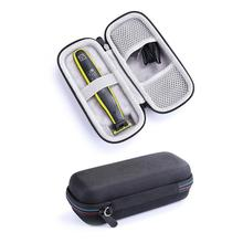 1PC Razor Storage Box One Blade Storage Case Protective Case Portable Travel Case Waterproof Shockproof Wear-resistant Organizer
