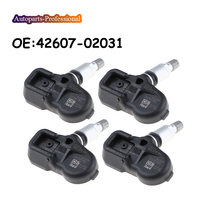 4 pcs/lot Car For T OYOTA Avensis Auris RAV4 Yaris Verso 42607-02031 4260702031 PMV-C210 TPMS Tire Pressure Sensor