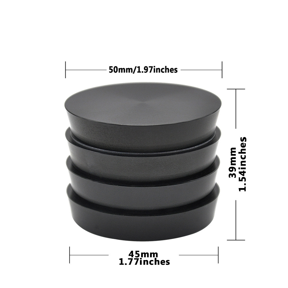 Multiple Colors Available Towel Shape Aluminum Herb Grinder Tobacco Grinder Spice Crusher Kitchen Grind Tool Hornet Grinder 1