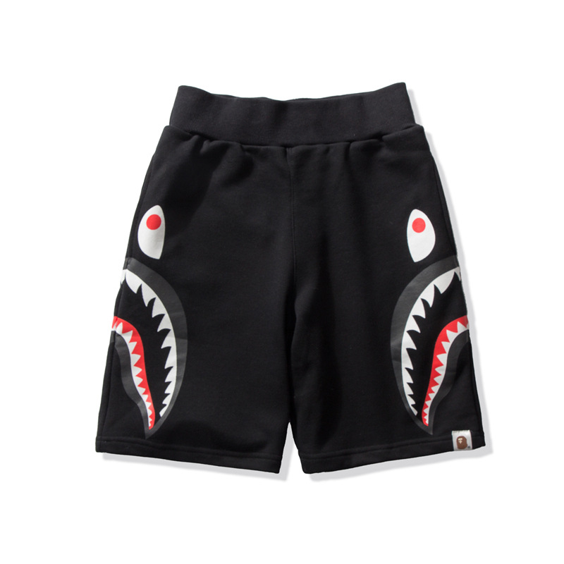 19 New Style Popular Brand Two-color Loose-Fit Men And Women Shorts Medium Waist Printed Casual Shorts Couples Sports In