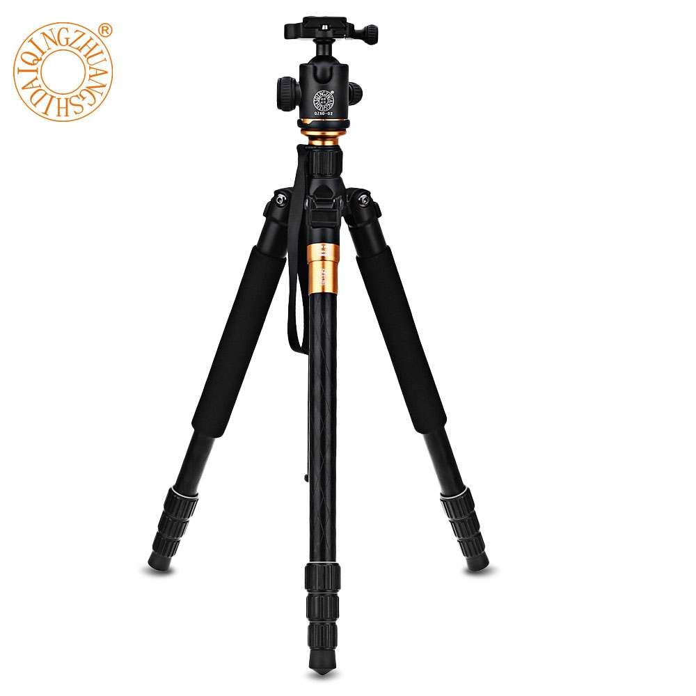 Q999 62.2 Inches Lightweight Tripod Monopod With 1/4 Screw