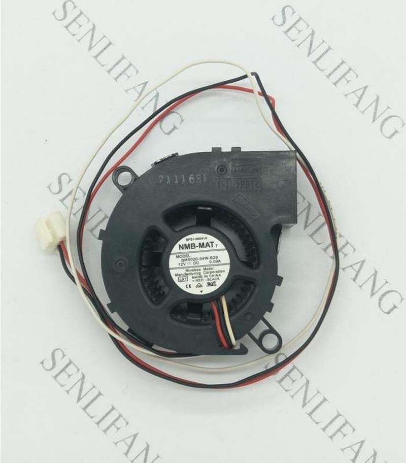 Free Shipping New Original NMB 5CM BM5020-04W-B29 5020 Dc12v MS510 Projector Fan L51 SP-A600