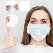 50pcs Face Mouth Mask for men women Disposable 3 Layers Health Care Anti PM2.5 White Facial Protective Masks