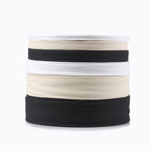 Chevron 100% Cotton Ribbon Natural White Black Webbing Herring Bonebinding Tape Trimming For DIY Wedding Party Decor 50Y