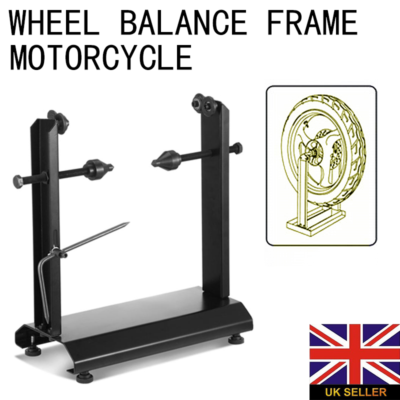 For Motorbike Repairing 1pc Motorcycle Static Wheel Balancer Tire Stand Street Rim Tire Balancing Spin Static Stands Mayitr
