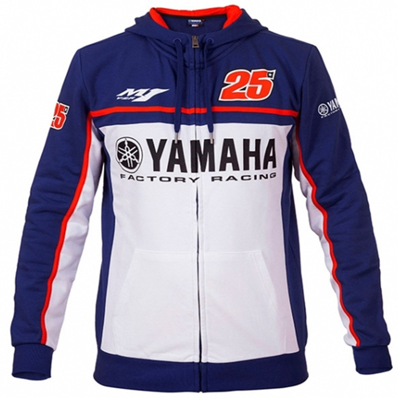 2018 Moto GP 25 Spring And Summer New Style Motorcycle Riding Hoodie Hooded Coat Fans Shirt Men's