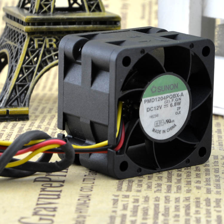 SUNON Orginal PMD1204PQBX-A 4CM 4028 12V 6.8W High- Speed Server Fans 40*40*28mm
