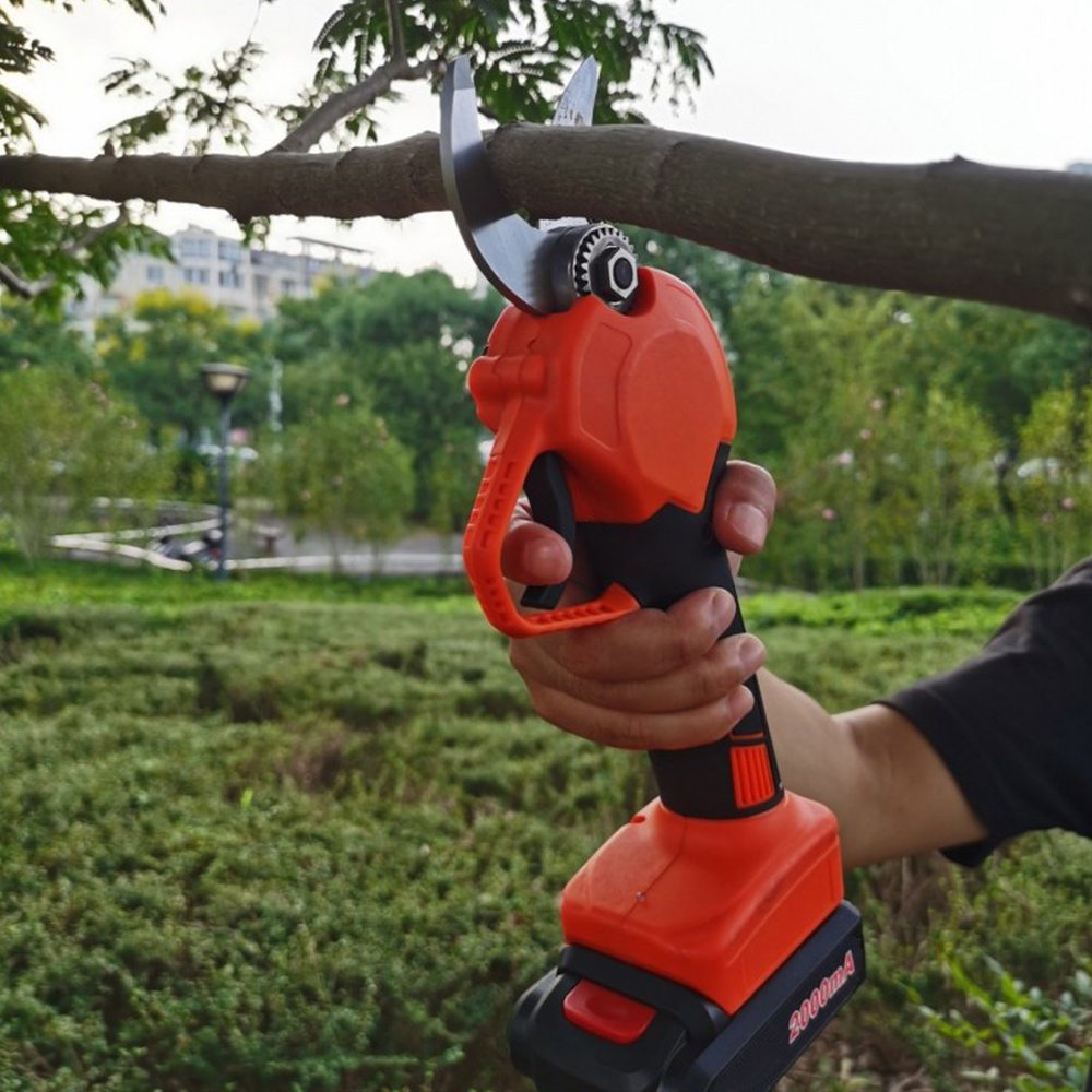 Tools : 36V Cordless Electric Pruning Shears Dual Battery 1 Rechargeable Lithium Battery Pruning Branch Cordless Orchard Pruning Tool