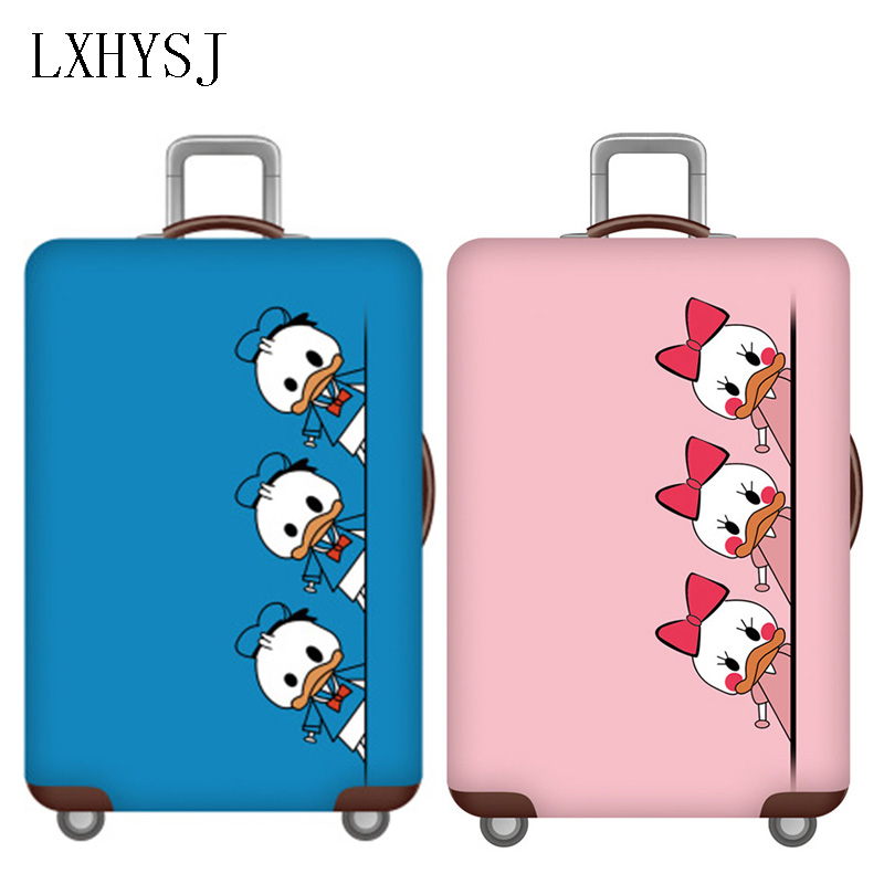 Couple Elasticity Luggage Cover Luggage Protective Covers Used For 18-32 Inch Suitcase Case Dust Cover Travel Accessories