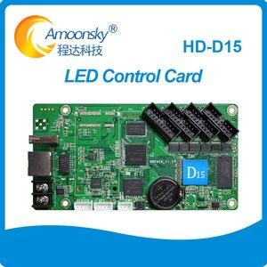 Image 1 - HD D15交換HD D10 huiduフルカラー非同期led制御カードのための専門ledスクリーン屋外p4/p8/p10