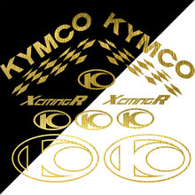 Conjunto completo adesivos para kymco250 500 300 i r decalques de vinil stickers-50x50cm