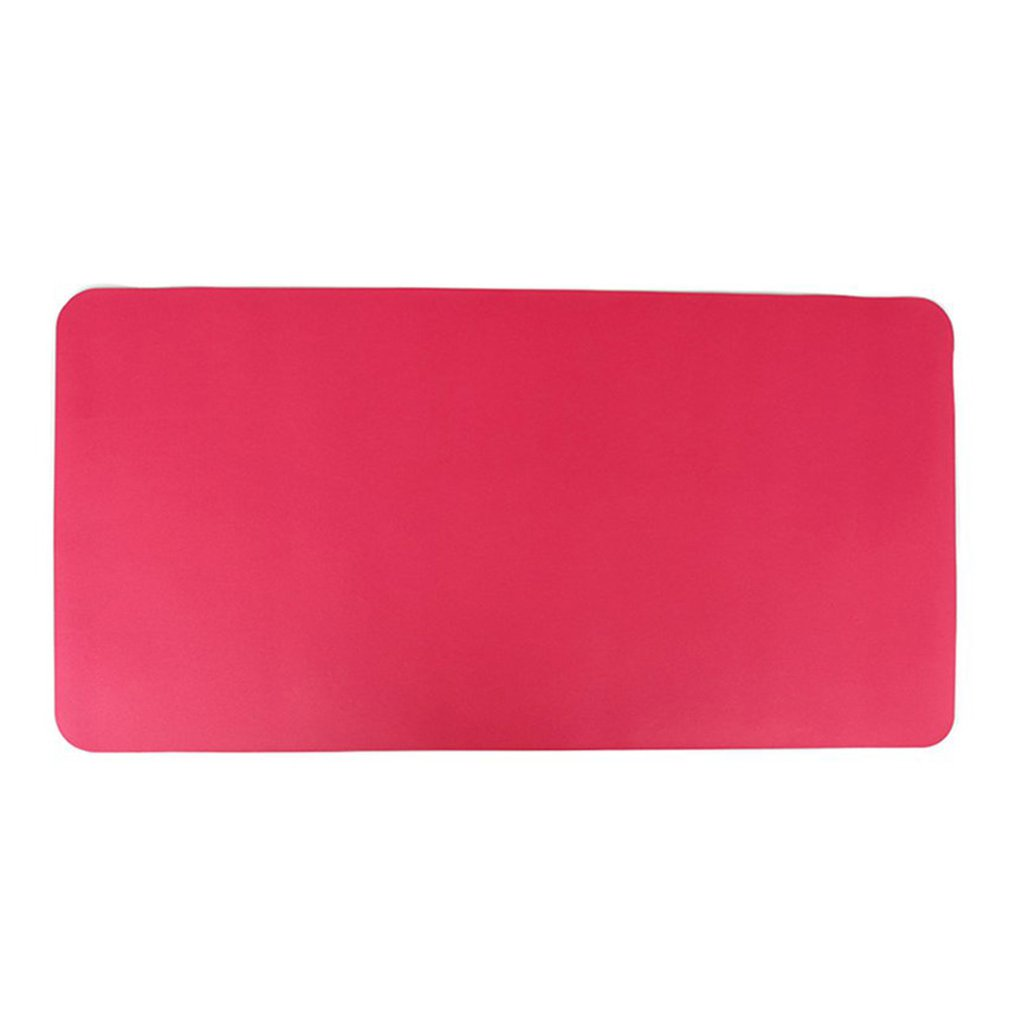 Mouse Pad Office Ordinary Non-Slip Mouse Pad Game Mouse Pad Computer Desk Pad Desk Book Pu Leather Table Mat