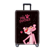 Fashion Pink Panther Travel Luggage Protective Cover Suitcase Case Accessorie Baggag Elastic
